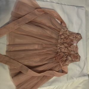 12m pink tulle dress